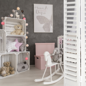 S-CRAFT+Aluminium+Shutters+-+Children-s+Bedroom+-+Satin+White